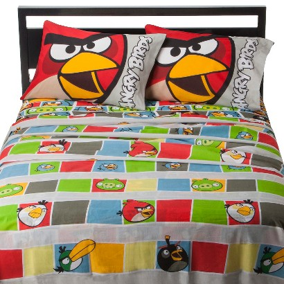 Angry Birds Sheet Set - Twin