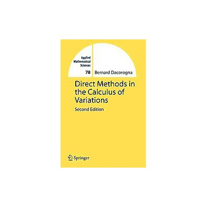 Direct Methods in the Calculus of Variations (Paperback)