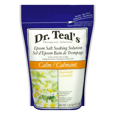 Dr. Teals Epsom Salt Soaking Solution - 3 lb