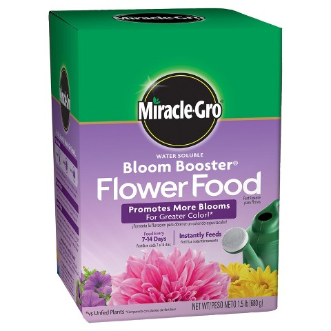 Miracle-Gro® Water Soluble Bloom Booster Flower Food 1.5lb
