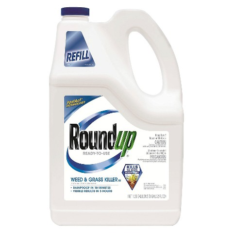 Roundup® Weed & Grass Killer 1.25 Gallon Ready to Use Refill