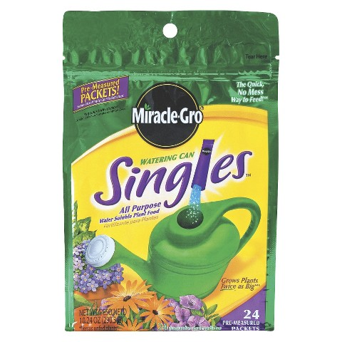 Miracle-Gro® Watering Can Singles All Purpose Water Soluble Plant Food 24-Pack