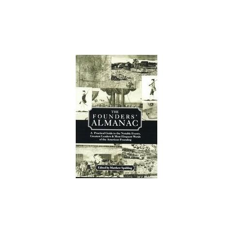 The Founders' Almanac (Reprint) (Hardcover)