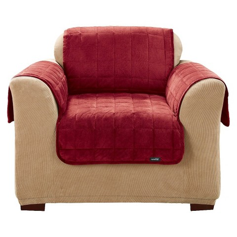 Furniture Friend Deluxe Comfort Quilted Chair Slipcover - Sure Fit