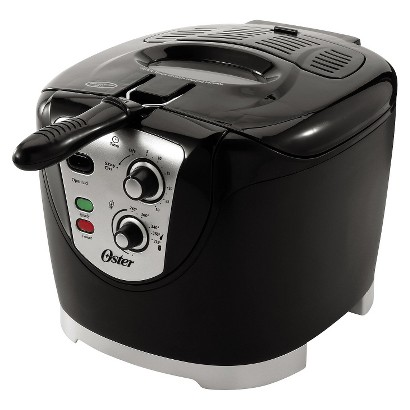 Oster Black/Stainless Oster 3 Liter Deep Fryer