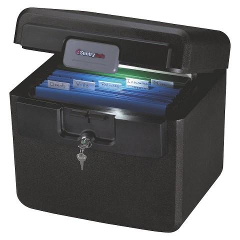 Sentry® Safe Black Fire Safe File  - .65 cu. ft.