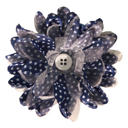 Gimme Clips Hair Clip - Wildflowers Blue
