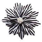 Gimme Couture Audrey Hair Clip - Black/White