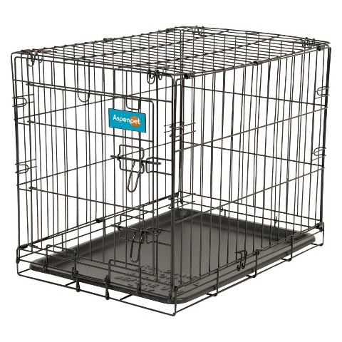 Aspen Pet Wire Training Kennel- Large
