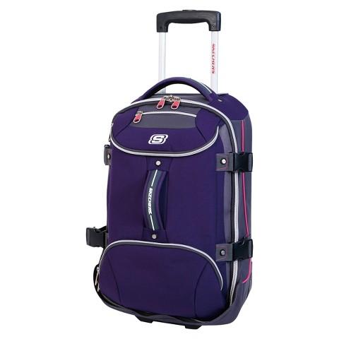 """Skechers Casual Altitude Suitcase - Purple (30"""")"""