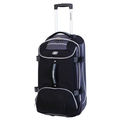 "Skechers Casual Altitude Suitcase - Black (30"")"