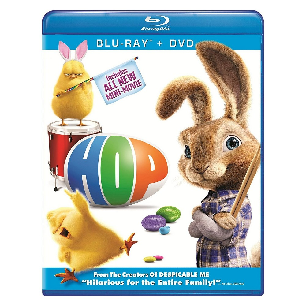 Hop (2 Discs) (Includes Digital Copy) (UltraViolet) (Blu-ray/Dvd)