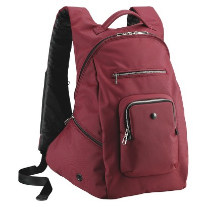 "Sumdex Slim Backpack - Red (15.6"")"