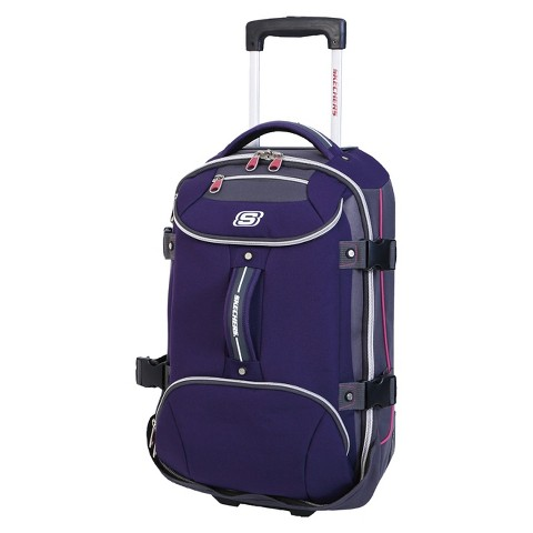 "Skechers Casual Altitude Suitcase - Purple (26"")"