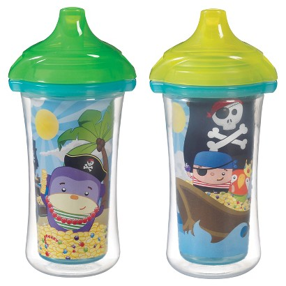 Munchkin 10oz. Click Lock Insulated Sippy Cup (2 pack)