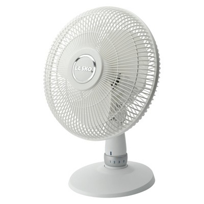 LASKO Table Fan- White