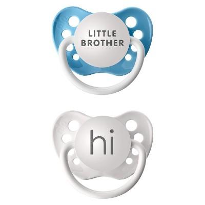 Ulubulu Blue Paci Lil Bro/Hi(2pk)