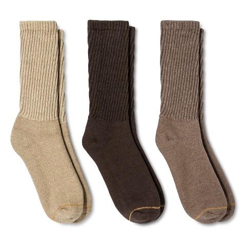 Auro® a GoldToe Brand Men's 3PK Socks