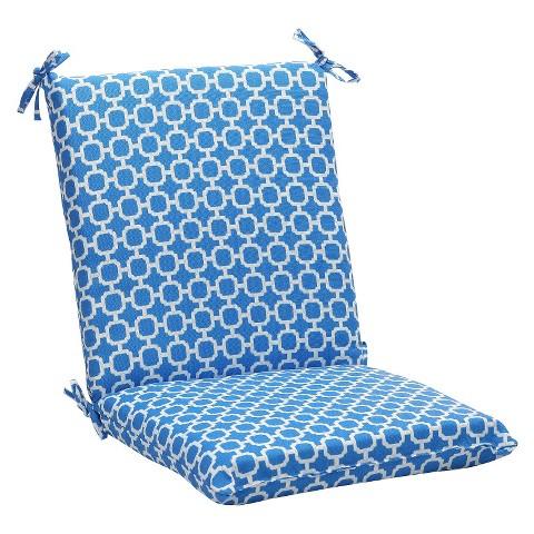 outdoor chair cushion blue white geometric target