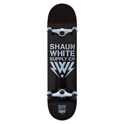 "Shaun White grey core complete logo  - 31.875"""
