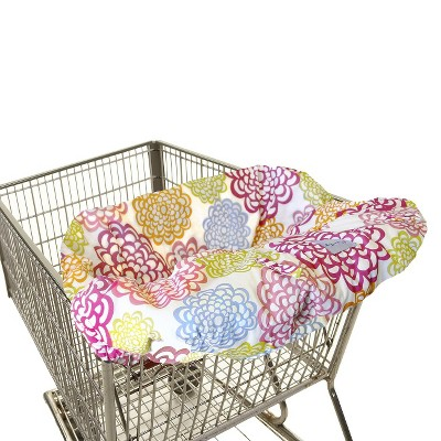 Itzy Ritzy Ritzy Sitzy™ Shopping Cart & High Chair Cover - Fresh Bloom
