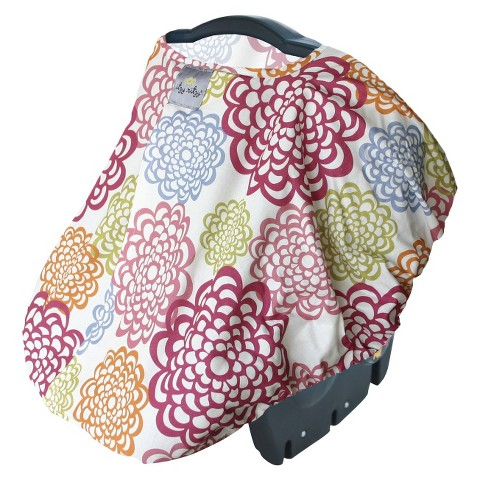 Itzy Ritzy Peek-A-Boo Pod™ Infant Carrier Pod - Fresh Bloom