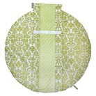 Itzy Ritzy Wrap & Roll™ Infant Carrier Arm Pad & Tummy Time Mat - Avocado Damask