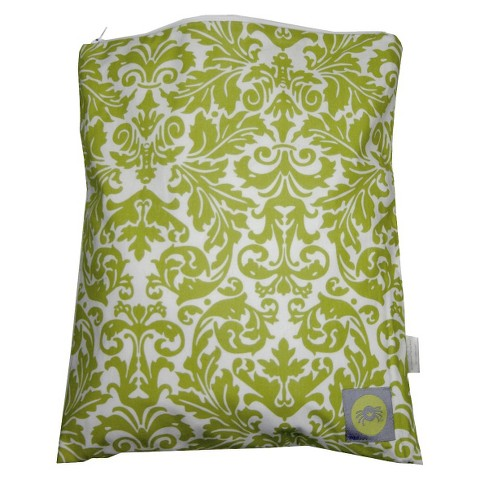 Itzy Ritzy Travel Happens™ Sealed Wet Bag - Avocado Damask