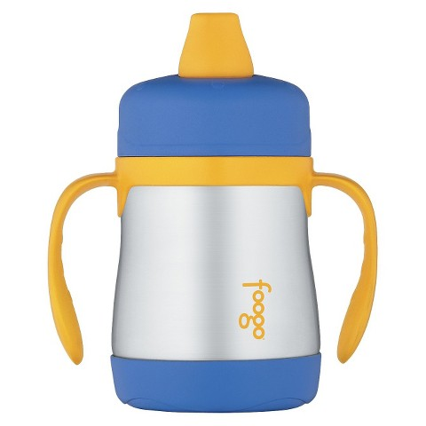 Thermos Foogo Vacuum Insulated Sippy Cup with Handles -7 oz - Blue