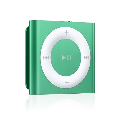 Apple iPod shuffle 2GB MP3 Player - Green (MD776LL/A)