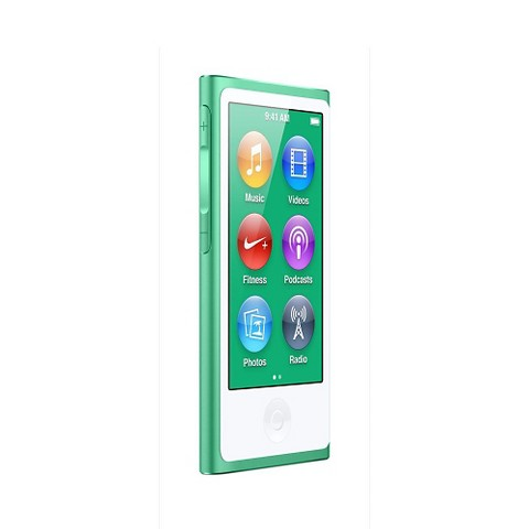 Apple iPod Nano 16GB (7th Generation)with touch-screen - Green (MD478LL/A)