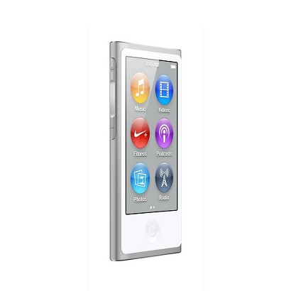 Apple iPod Nano 16GB (7th Generation)with touch-screen - Silver (MD480LL/A)