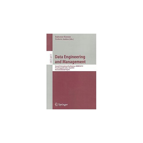 Data Engineering and Management (Paperback)