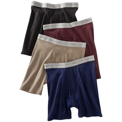 Hanes® Men Dyed Boxer Brief 4-Pack