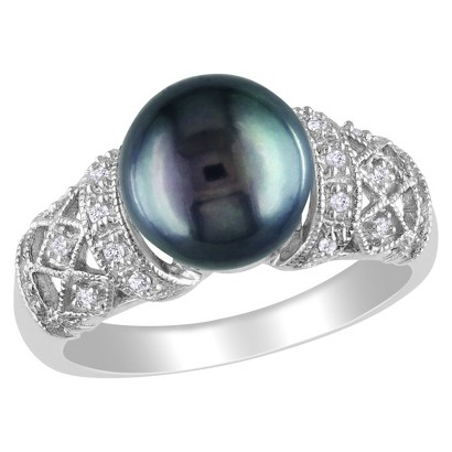 and black pearl ring target