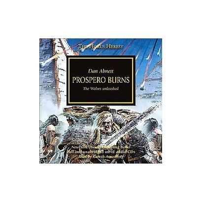 Prospero Burns (Unabridged) (Compact Disc)
