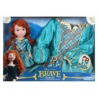 Disney Princess Merida Doll & Toddler Dress Gift Set