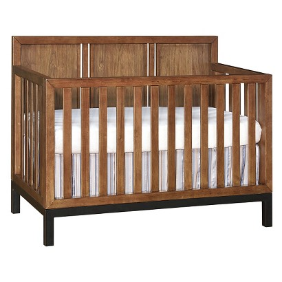Westwood Park West Convertible Crib with Always There Hardware  - Walnut