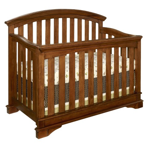 Westwood Waverly Convertible Crib with Toddler Rail - Tuscan