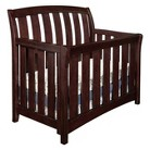 Westwood Brookline Convertible Crib with Toddler Rail - Chocolate Mist