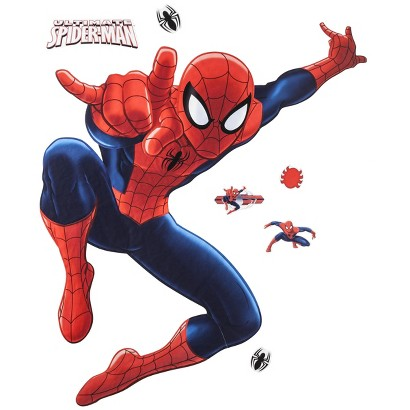 Roommates Spiderman Giant Wall Decals