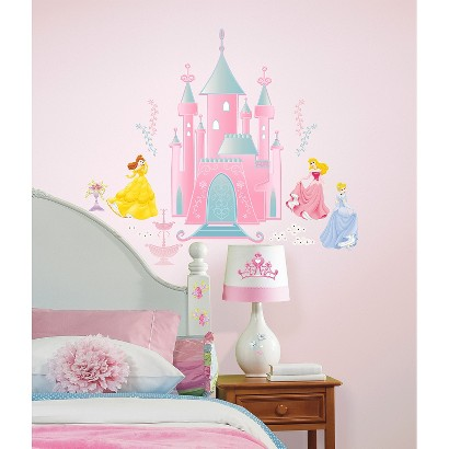 Roommates Disney Castle Wall Decals