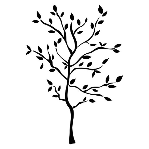 Roommates Tree Branches Wall Decals