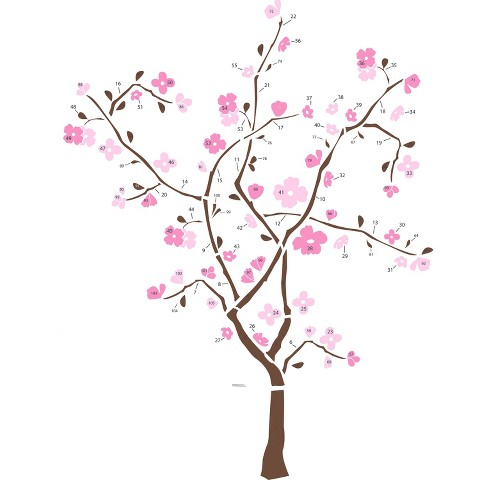 Roommates Spring Blossom Wall Decals