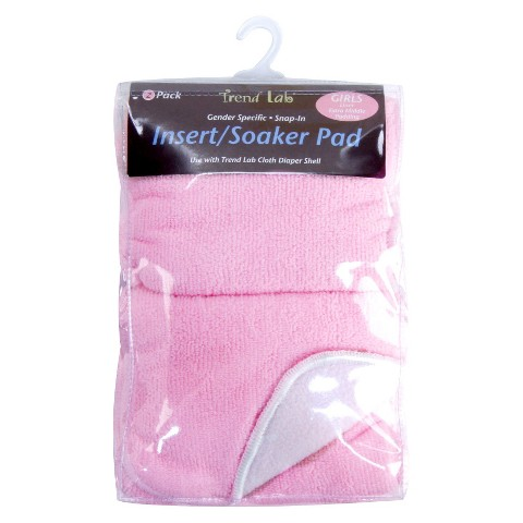 Trend Lab Cloth Diaper Liners - Girl