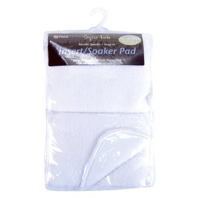 Trend Lab 2 Pc. Cloth Diaper Liners - White
