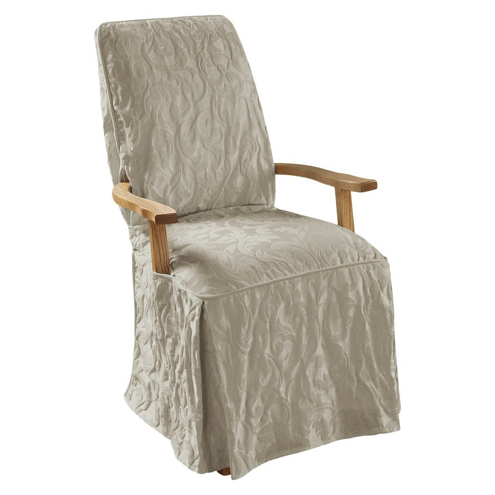 SURE FIT MATELASSE DAMASK DINING ROOM CHAIR SLIPCOVER : 14007177wid1000amphei1000 from zukit.com size 1000 x 1000 jpeg 110kB