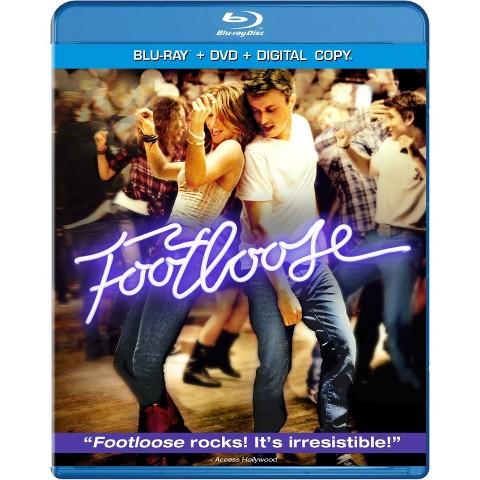 Footloose [2 Discs] [Includes Digital Copy] [UltraViolet] [Blu-ray/DVD]