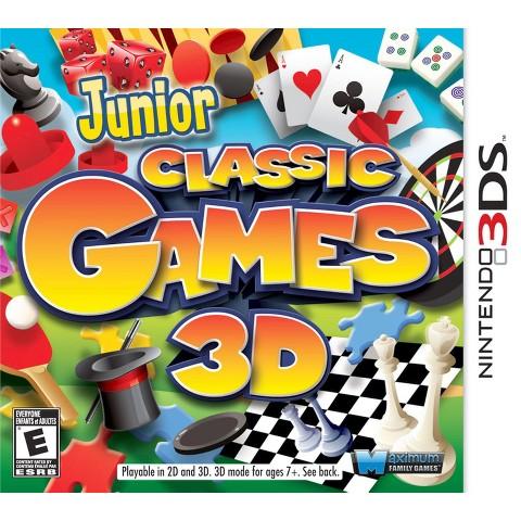 Junior Classic Games (Nintendo 3DS)