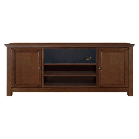 Crosley TV Stand with Sound Bar - Mahogany
